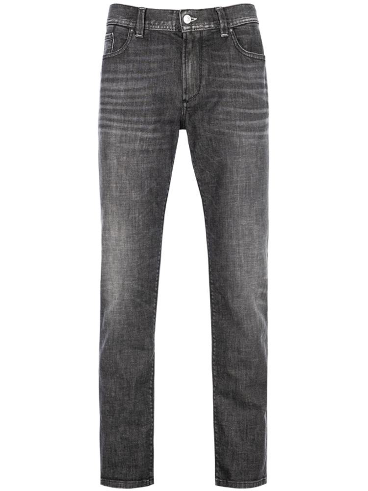ALBERTO 4247/990 Jeans Regular Slim Fit PIPE Superfit grey used SALE
