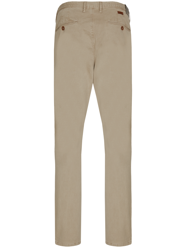 ALBERTO Chino Hose Regular Slim Fit LOU Cotton beige SPARPREIS