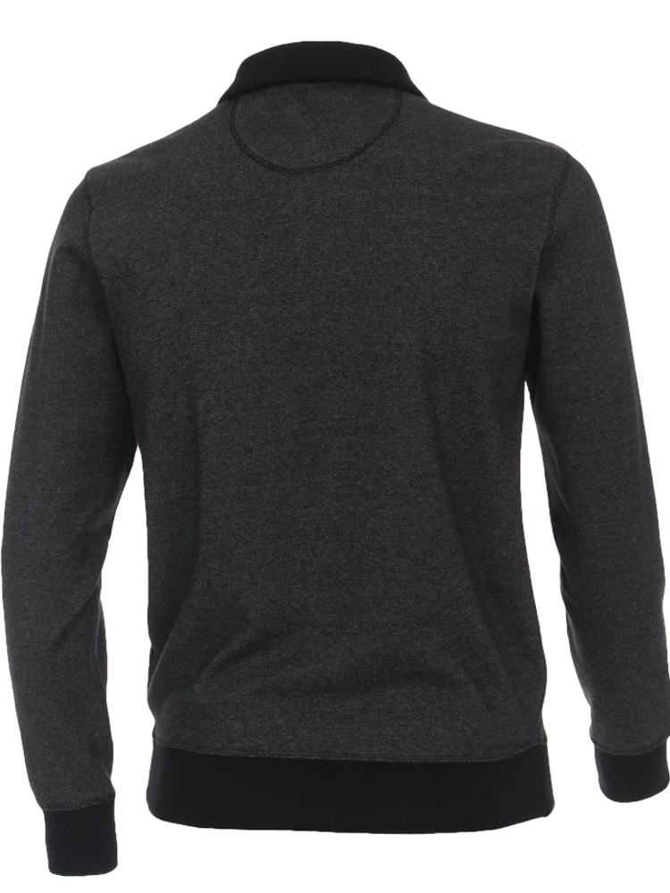 CASA MODA Sweatshirt TROYER Bi-Color grau