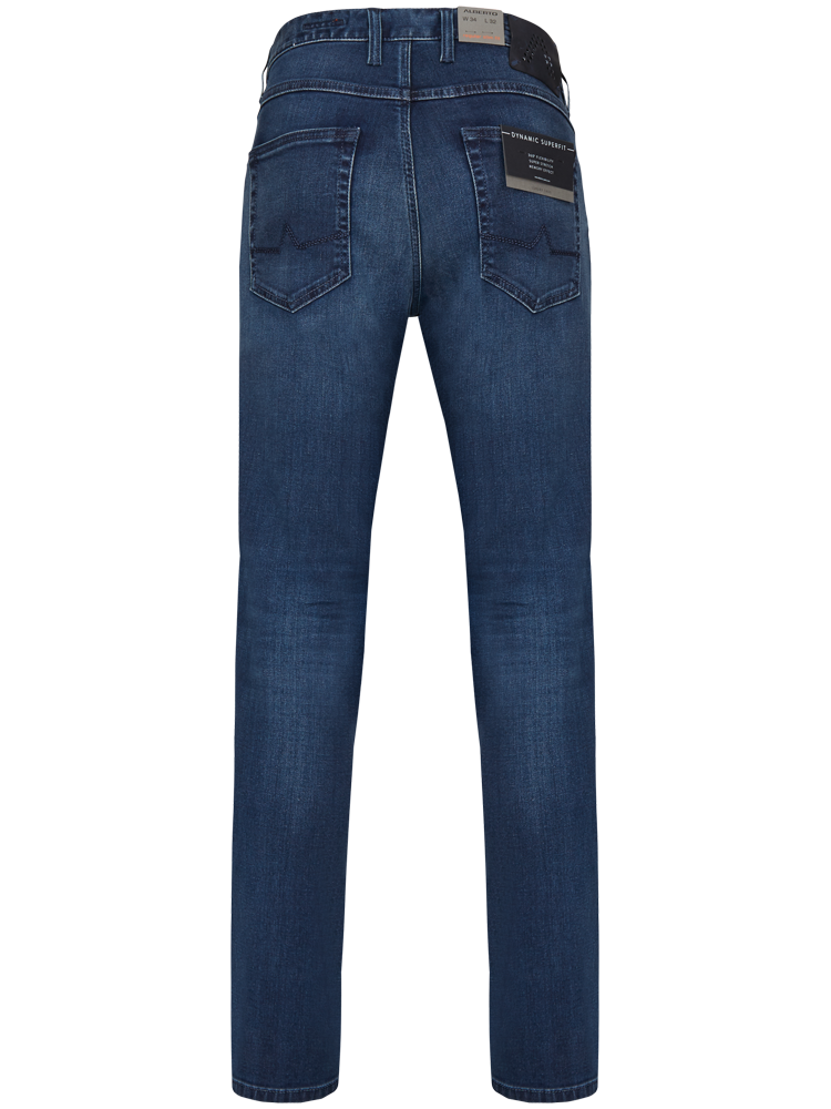 ALBERTO Jeans Regular Slim Fit PIPE T400 Superfit Dual FX blue used
