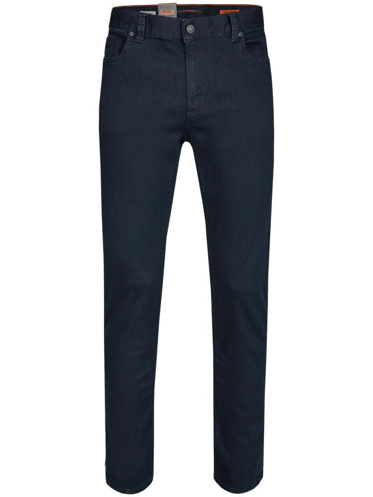 ALBERTO Jeans Regular Slim Fit PIPE T400 Superfit Dual FX dunkelblau