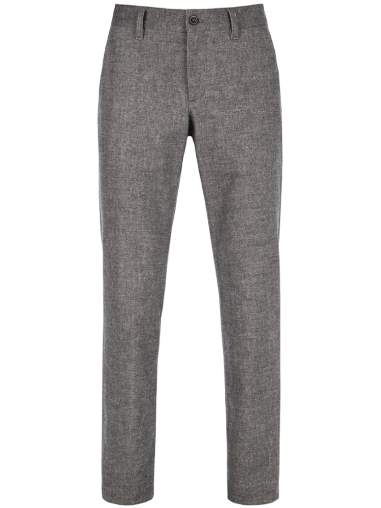 ALBERTO Chino Regular Slim Fit LOU Wool Look grau 5987-1222-990