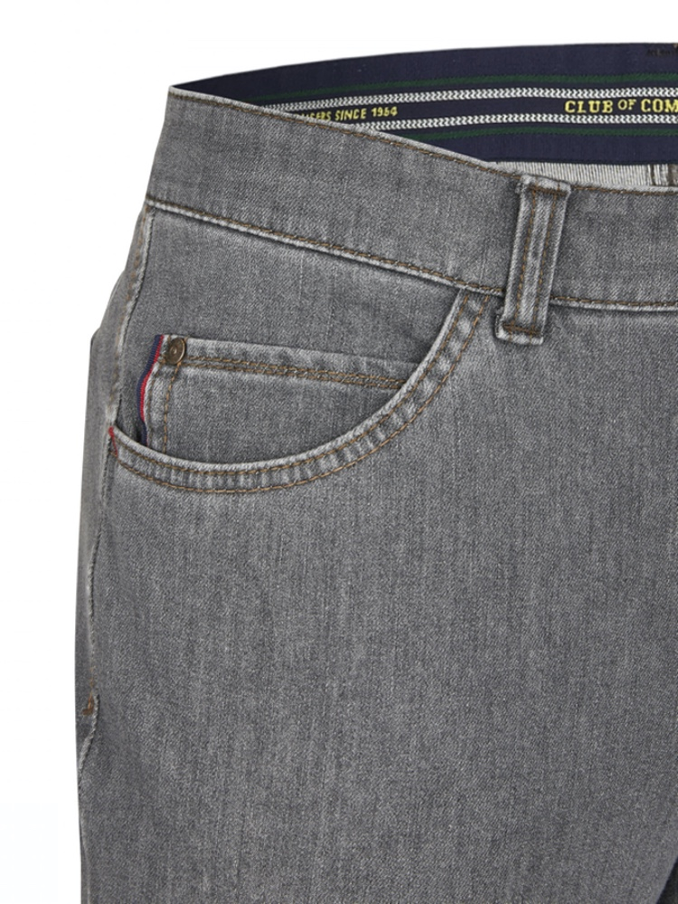 CLUB OF COMFORT Jeans MARVIN Bi-Stretch grau
