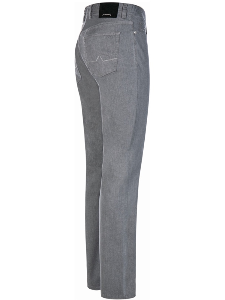 ALBERTO Jeans Regular Slim Fit PIPE Coolmax grau