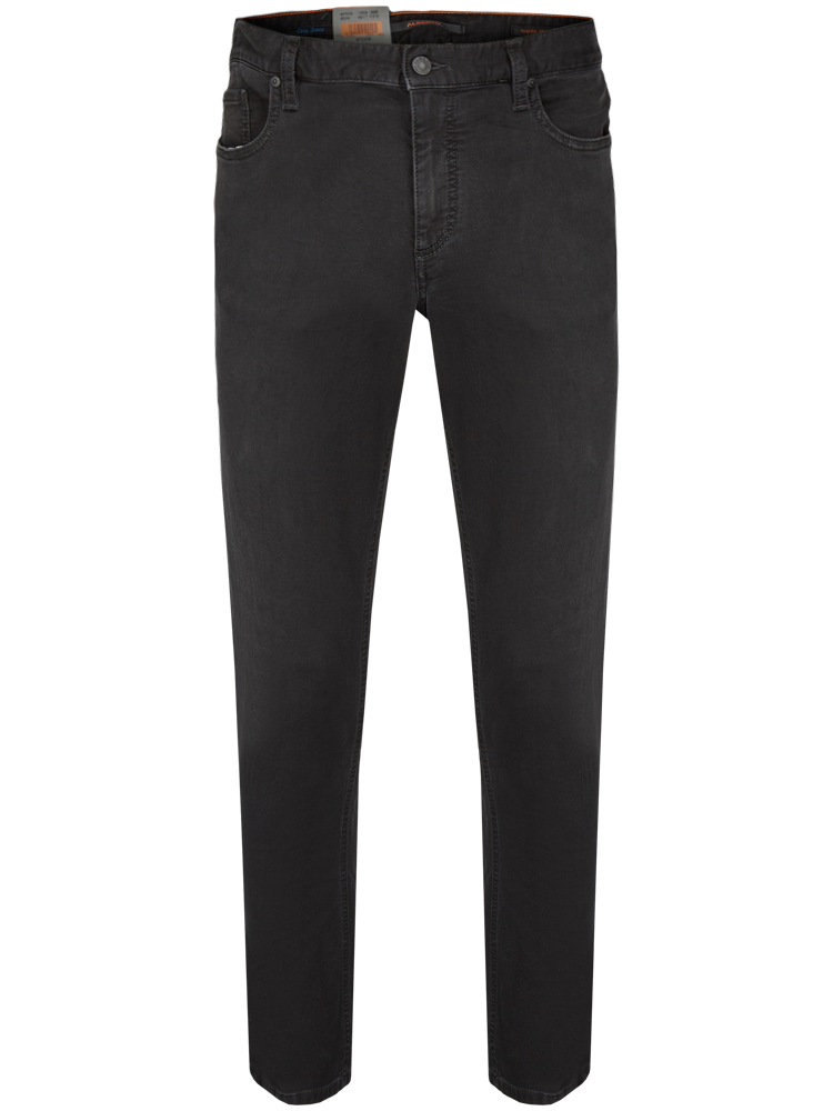ALBERTO 4817/996 Jeans Regular Slim Fit PIPE Cosy anthracite SALE