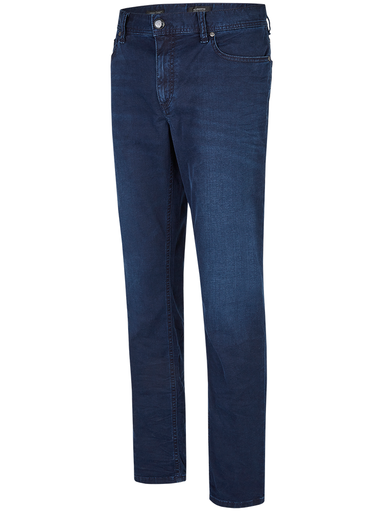ALBERTO 6867885 Jeans Regular Slim Fit PIPE T400 Luxury night blue SALE