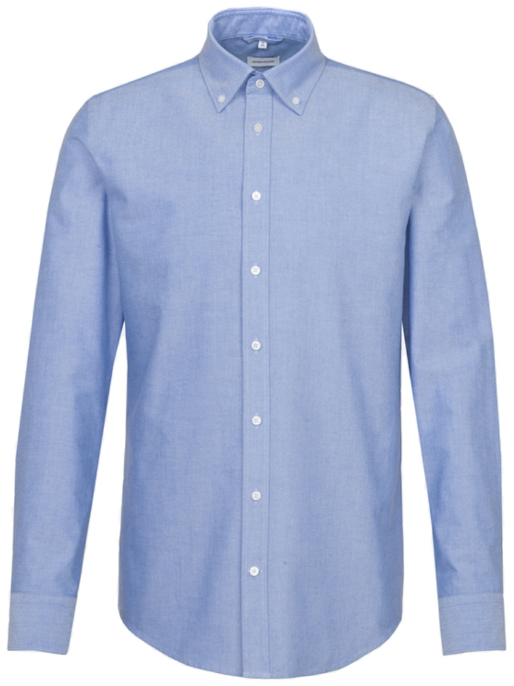 Seidensticker Hemd SLIM FIT Oxford hellblau