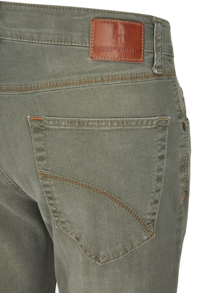 CLUB OF COMFORT Jeans HENRY T400 DualFX oliv used