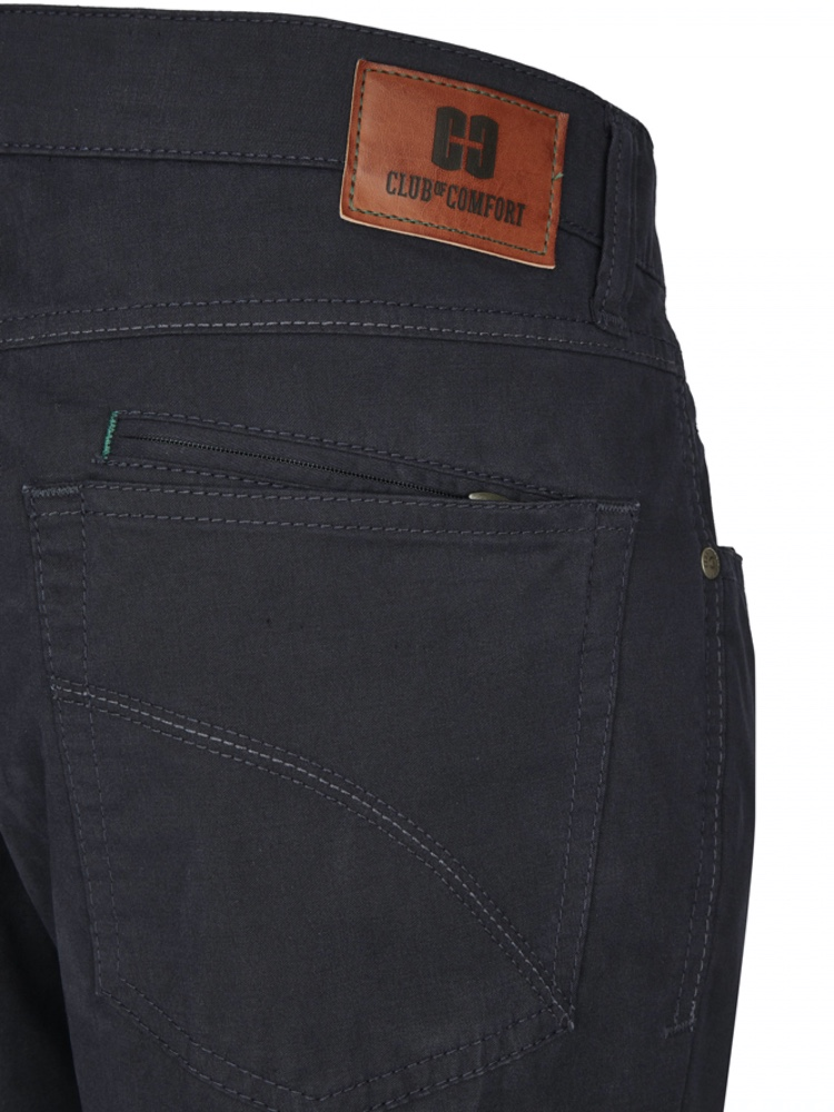CLUB OF COMFORT Jeans HENRY-X Gabardine blue black