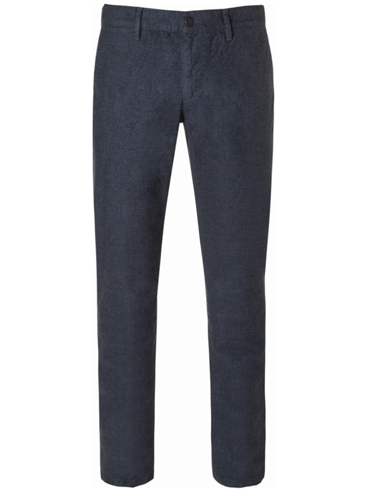 ALBERTO Chino Regular Slim Fit LOU Wool Look dunkelblau 5987-1822-895