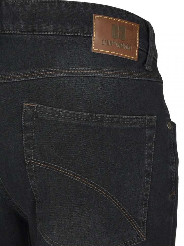 CLUB OF COMFORT Jeans HENRY Bi-Stretch black used