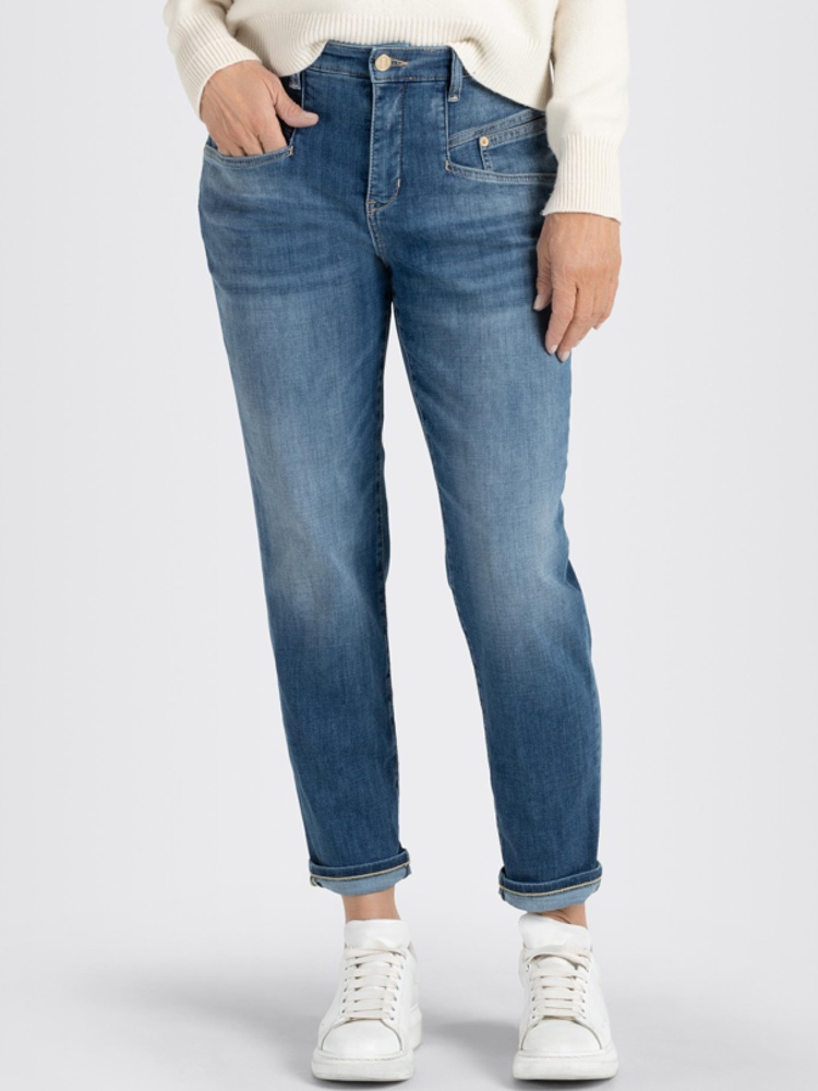 MAC Jeans RICH CARROT blue used