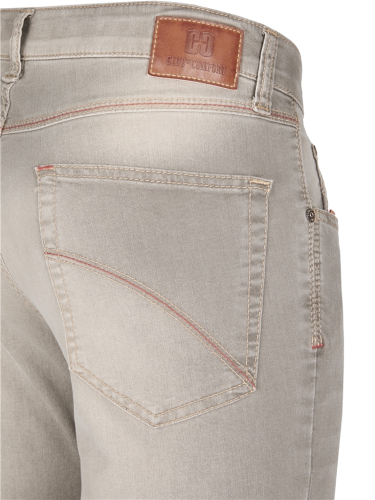 CLUB OF COMFORT Jeans HENRY T400 DualFX schlamm used