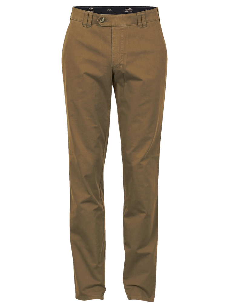 CLUB OF COMFORT Chino Hose DENVER grün