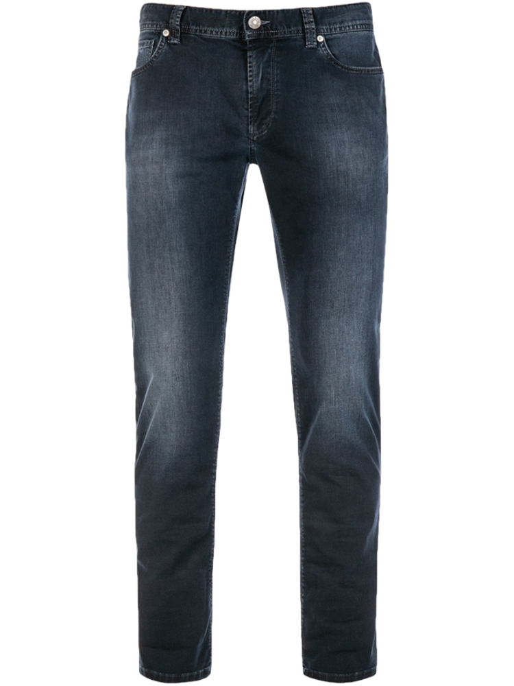 ALBERTO 4247/890 Jeans Regular Slim Fit PIPE Noble Denim dark blue used SALE