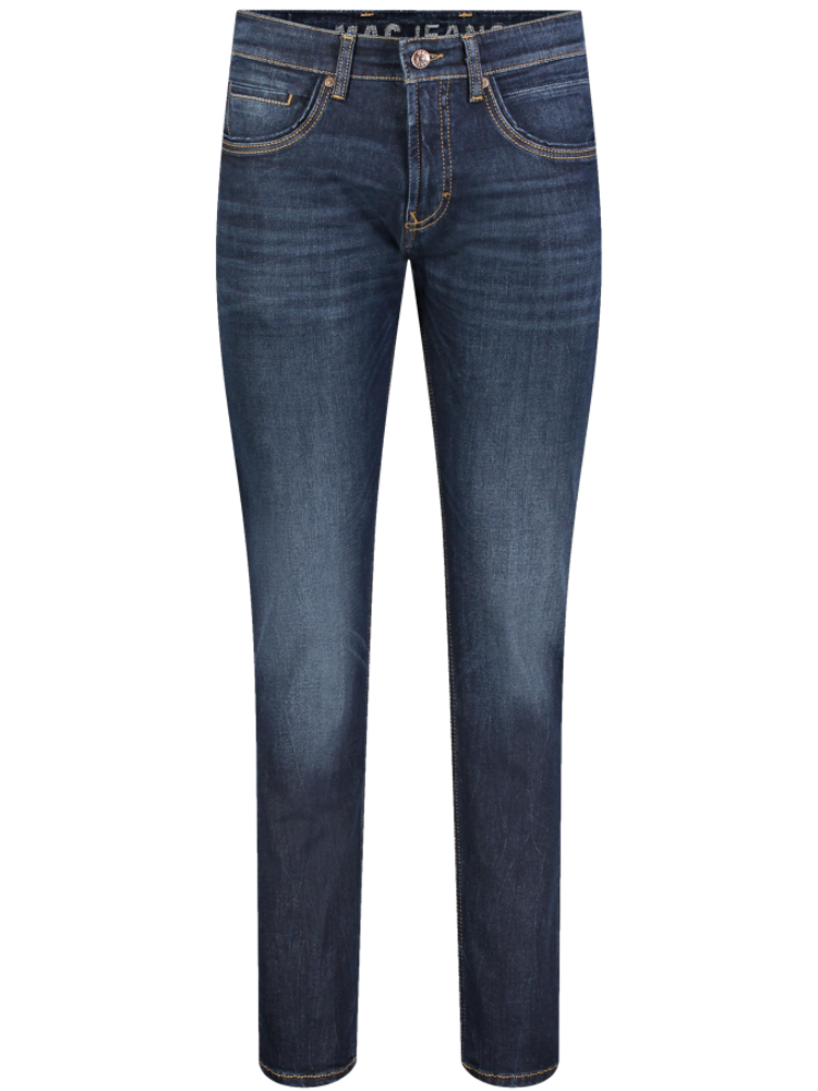 MAC Jeans Modern Fit ARNE PIPE dark blue authentic used 3D buffies