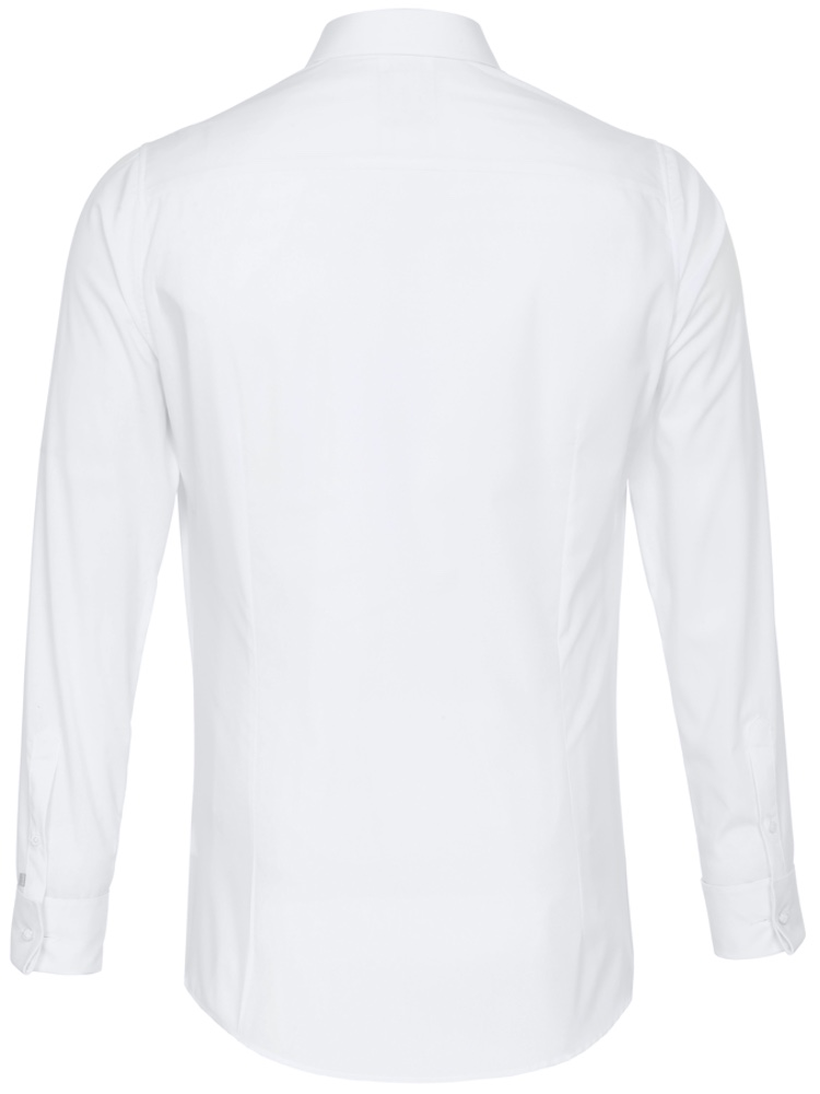 PURE Hemd EXTRA SLIM FIT Party Shirt weiß