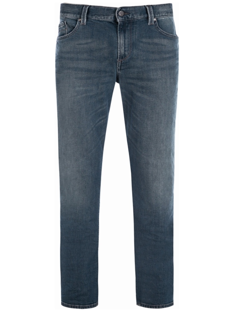 ALBERTO Jeans Regular Slim Fit PIPE Vintage blau SALE