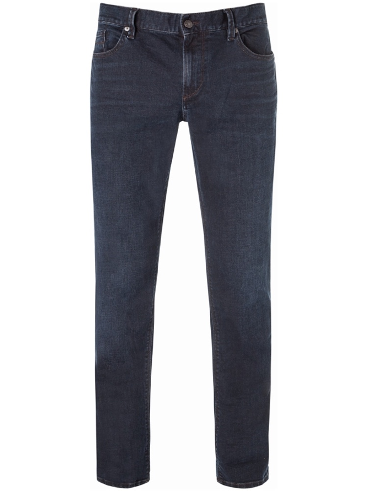 ALBERTO 6677/895 Jeans Regular Slim Fit PIPE Triple Dyed blue black SALE