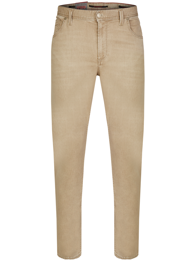 ALBERTO 5017/570 Jeans Modern Fit STONE Superfit light brown SALE
