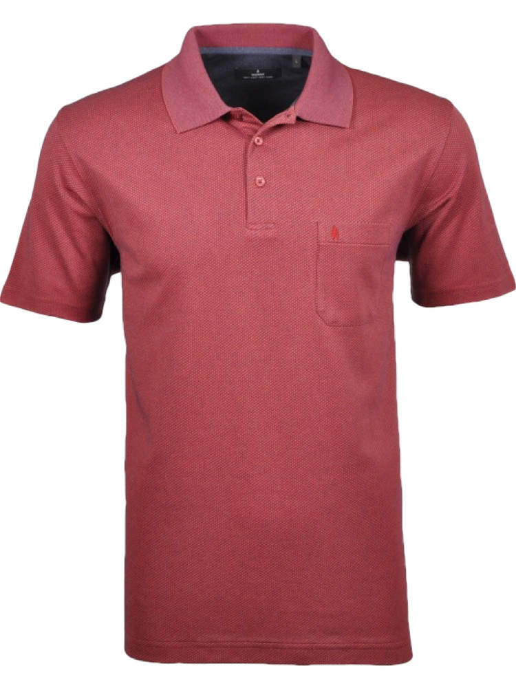 RAGMAN Poloshirt Fishnet orange SALE