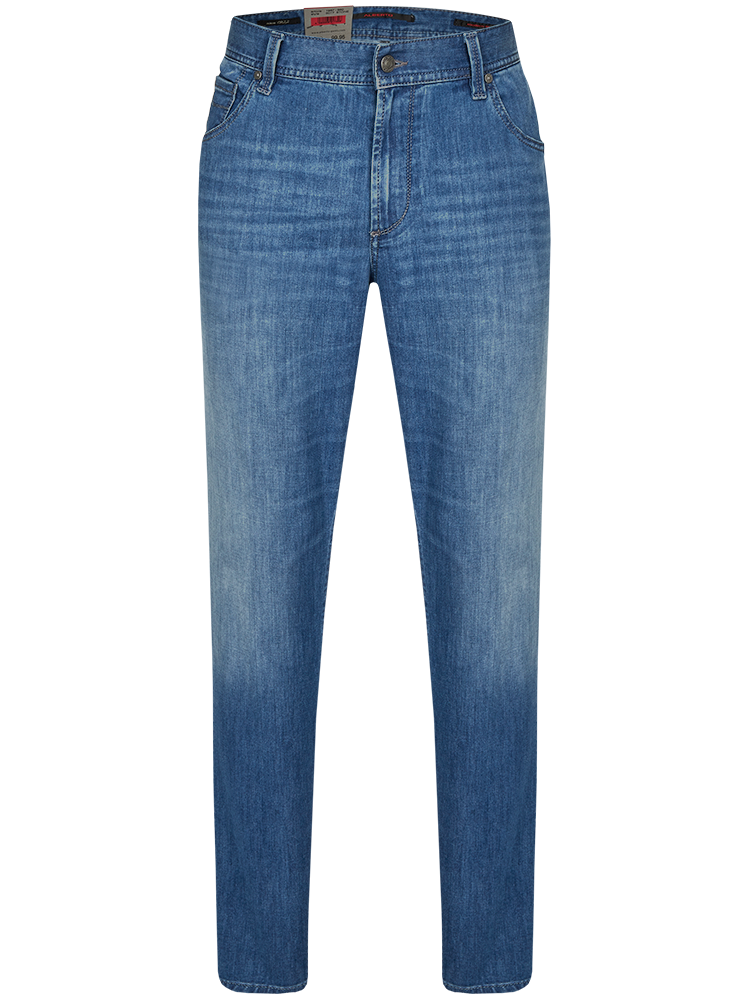 ALBERTO Jeans Modern Fit STONE blue bleach SALE