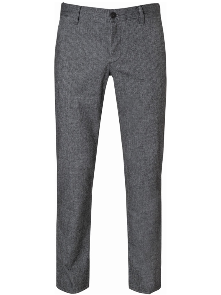 ALBERTO Chino Regular Slim Fit LOU Wool Look dunkelgrau 5987-1221-980