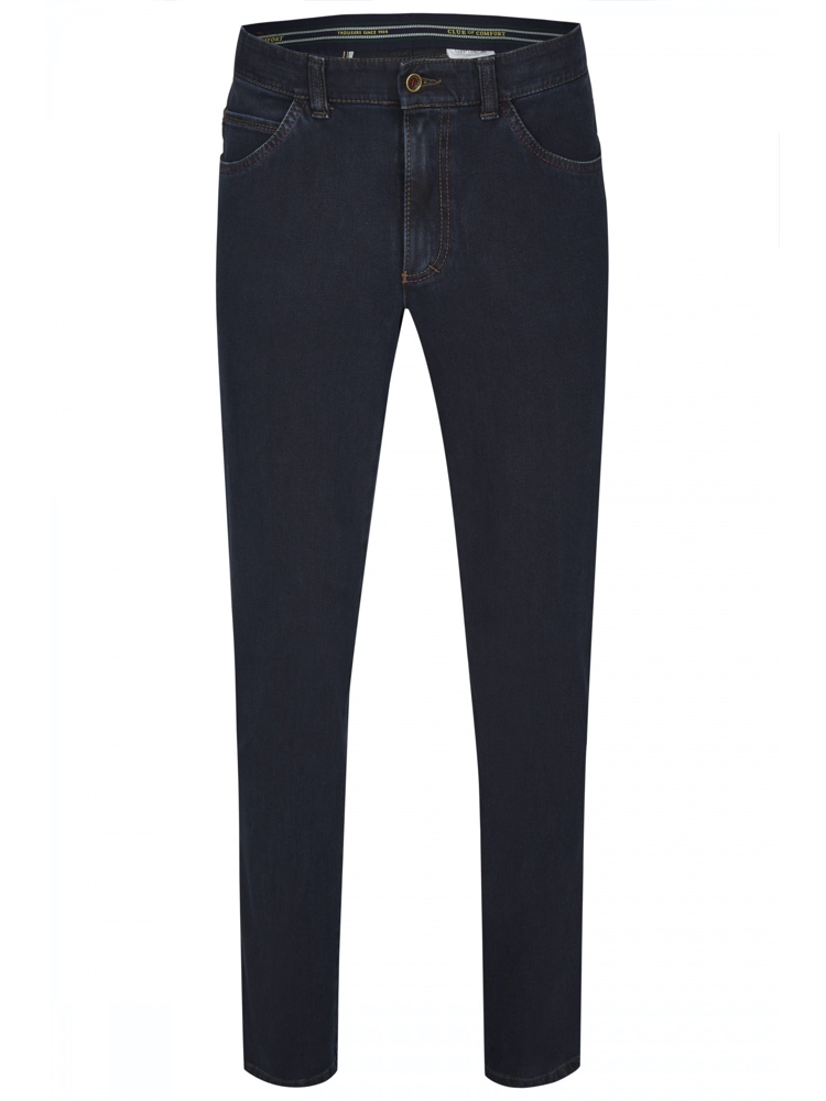 CLUB OF COMFORT Jeans MARVIN Bi-Stretch schwarzblau