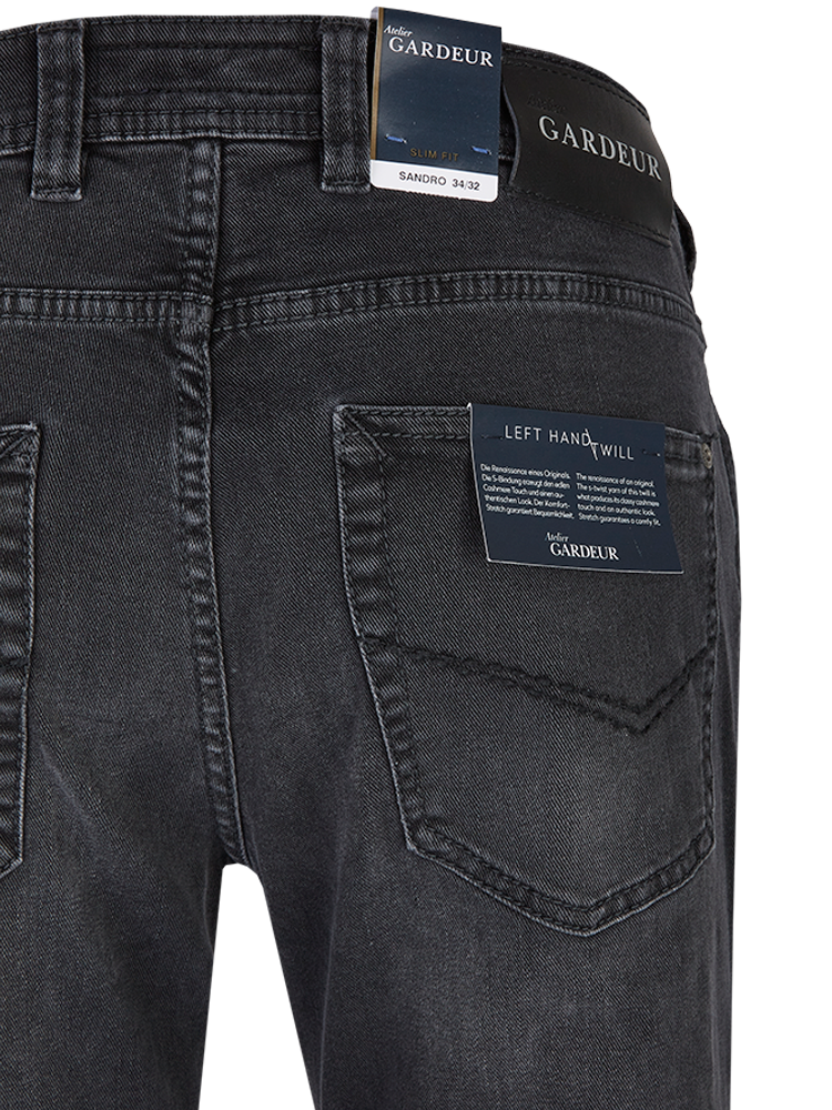 GARDEUR Jeans Slim Fit SANDRO black stone SALE