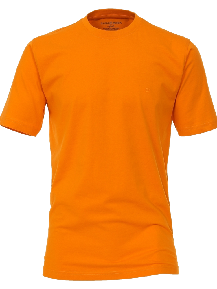CASA MODA T-Shirt RUNDHALS orange SALE