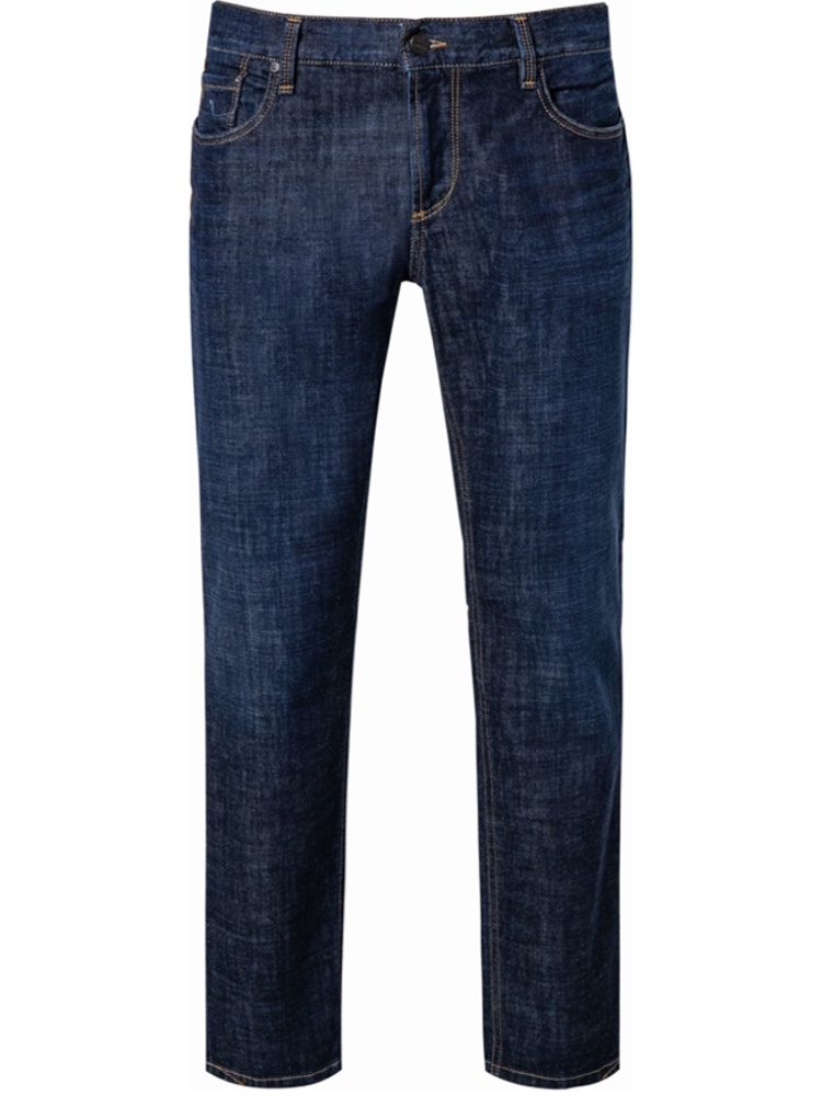 ALBERTO Jeans Tapered Fit SLIPE Authentic blue rinsed