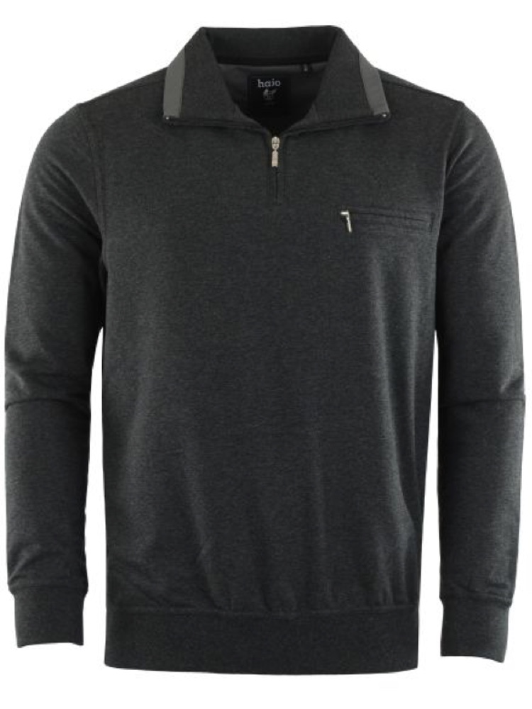 HAJO Sweatshirt TROYER anthrazit