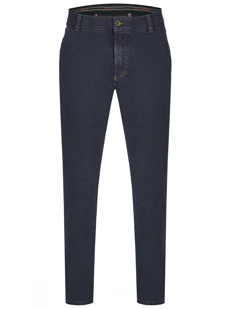 CLUB OF COMFORT Jeans GARVEY Bi-Stretch schwarzblau