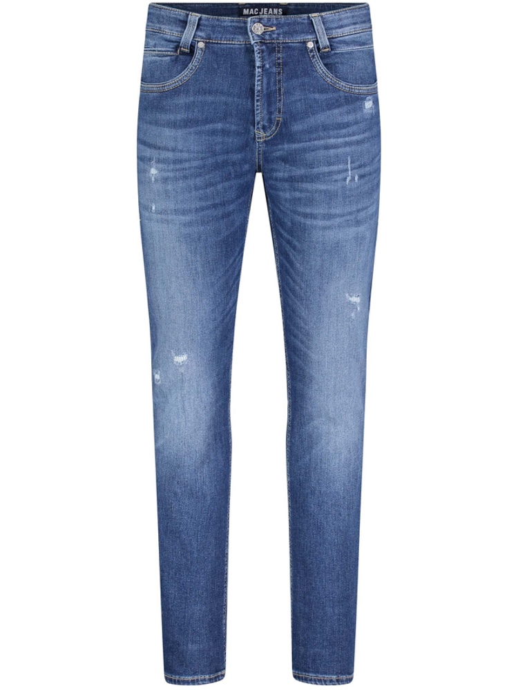 MAC Jeans Modern Fit ARNE PIPE destroyed blue