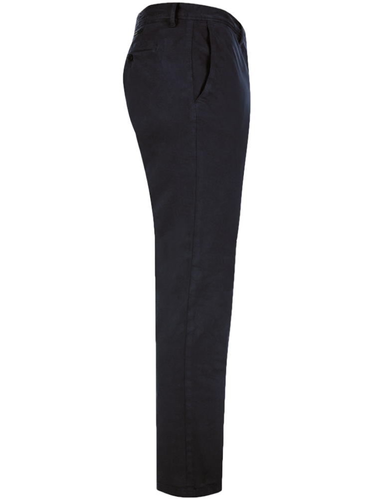 ALBERTO Chino Hose Slim Fit ROB T400 Superfit Twill dunkelblau