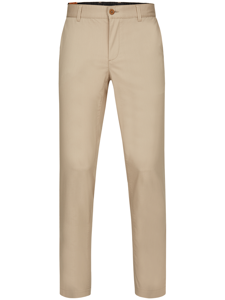 ALBERTO Chino Hose Regular Slim Fit LOU Ceramica beige