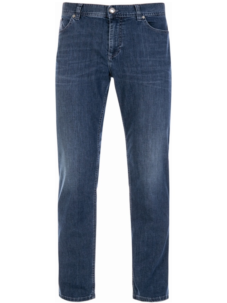 ALBERTO Jeans Regular Slim Fit PIPE Coolmax dark blue