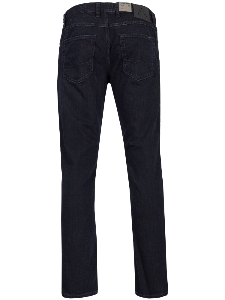 ALBERTO Jeans Regular Slim Fit PIPE T400 indigoblau SALE