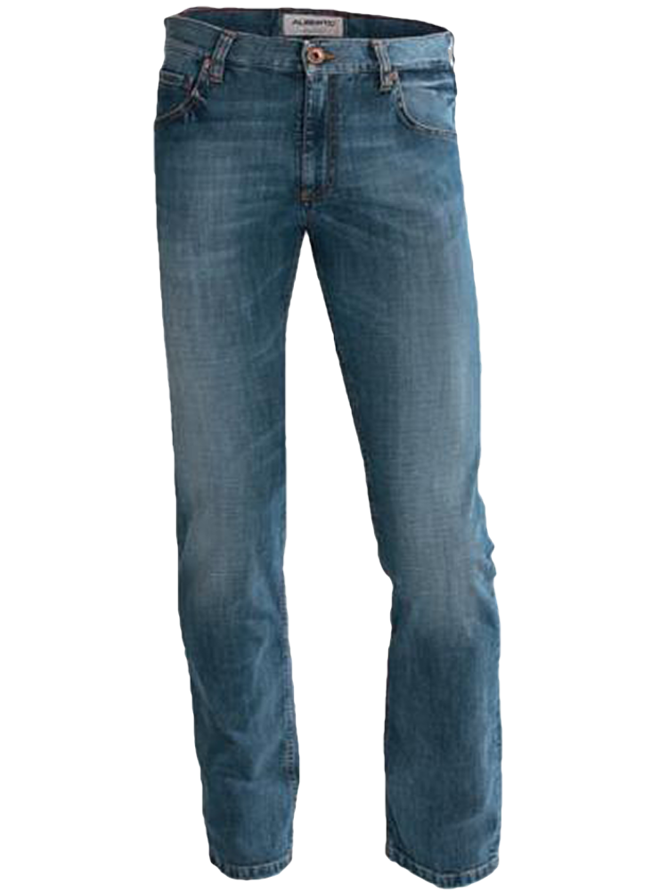 ALBERTO Jeans Regular Slim Fit PIPE Authentic Denim stonewashed SPARPREIS