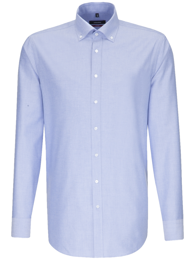 Seidensticker Hemd MODERN FIT 117632/13 Oxford himmelblau SALE