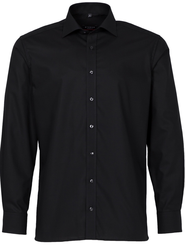 Eterna Hemd MODERN FIT Performance Shirt schwarz