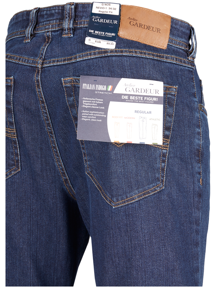 GARDEUR Jeans Regular Fit NEVIO-11 night blue SPARPREIS