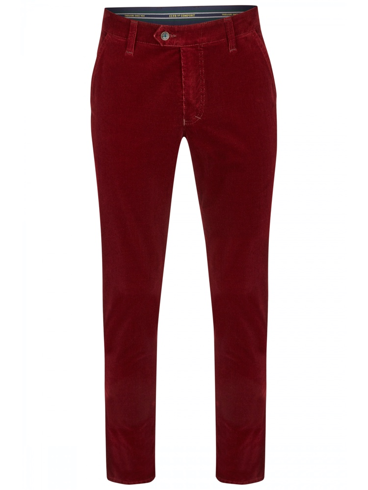 CLUB OF COMFORT Hose GARVEY Feincord rot