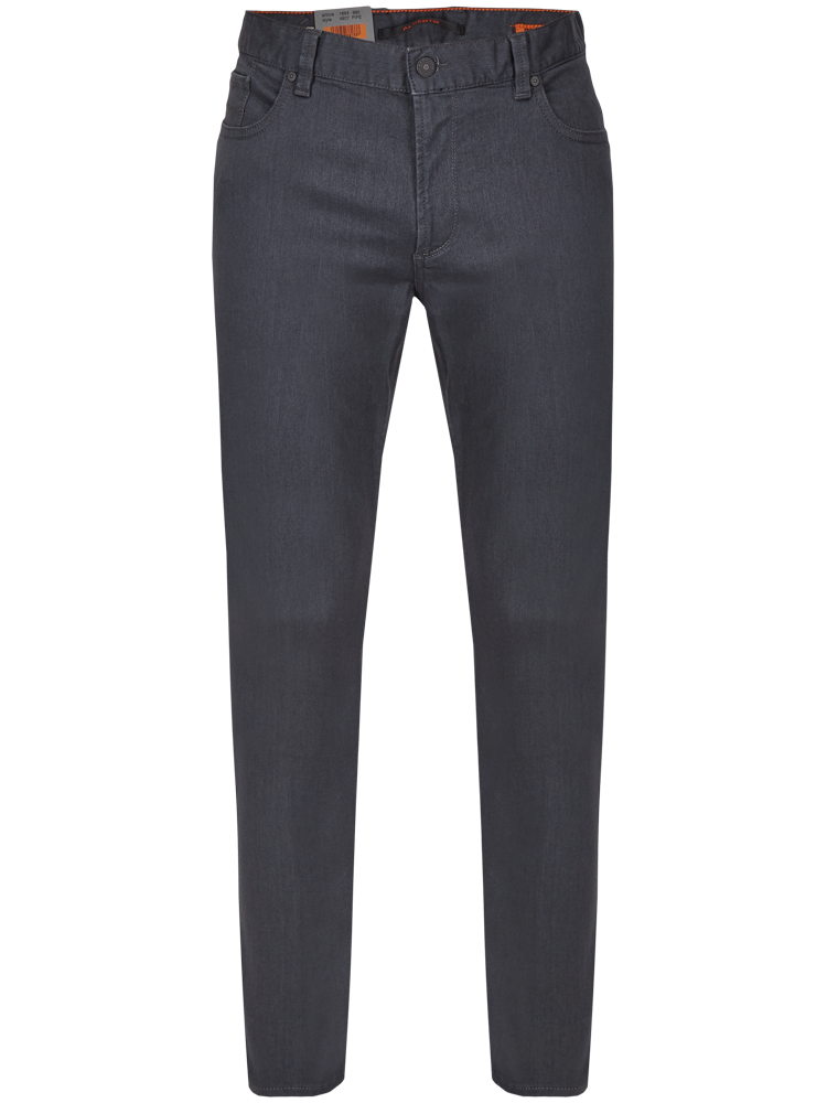 ALBERTO Jeans Regular Slim Fit PIPE T400 Superfit Dual FX dunkelgrau