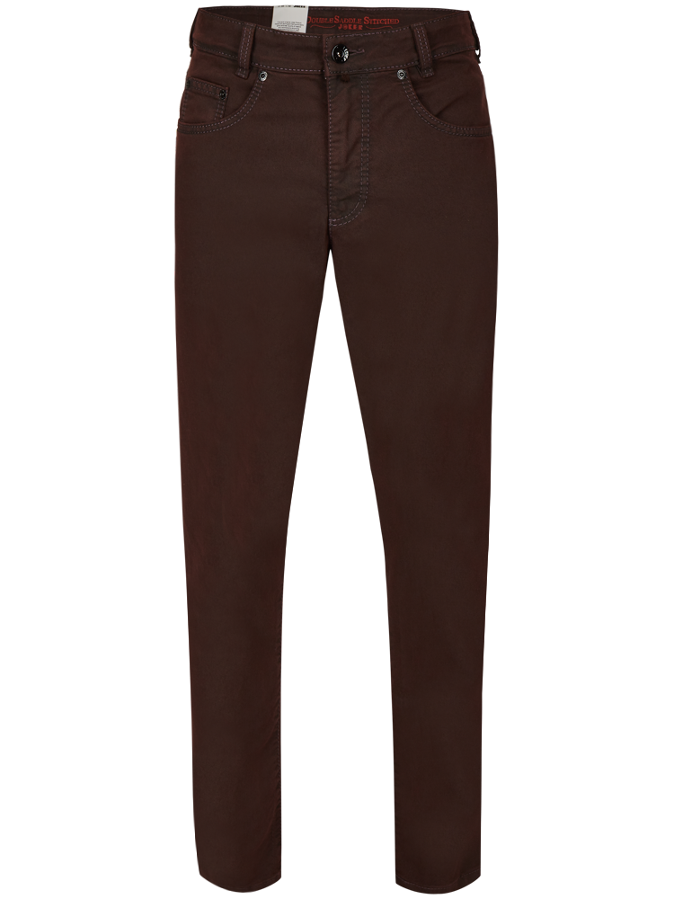 JOKER Jeans CLARK Colour Stretch bordeaux