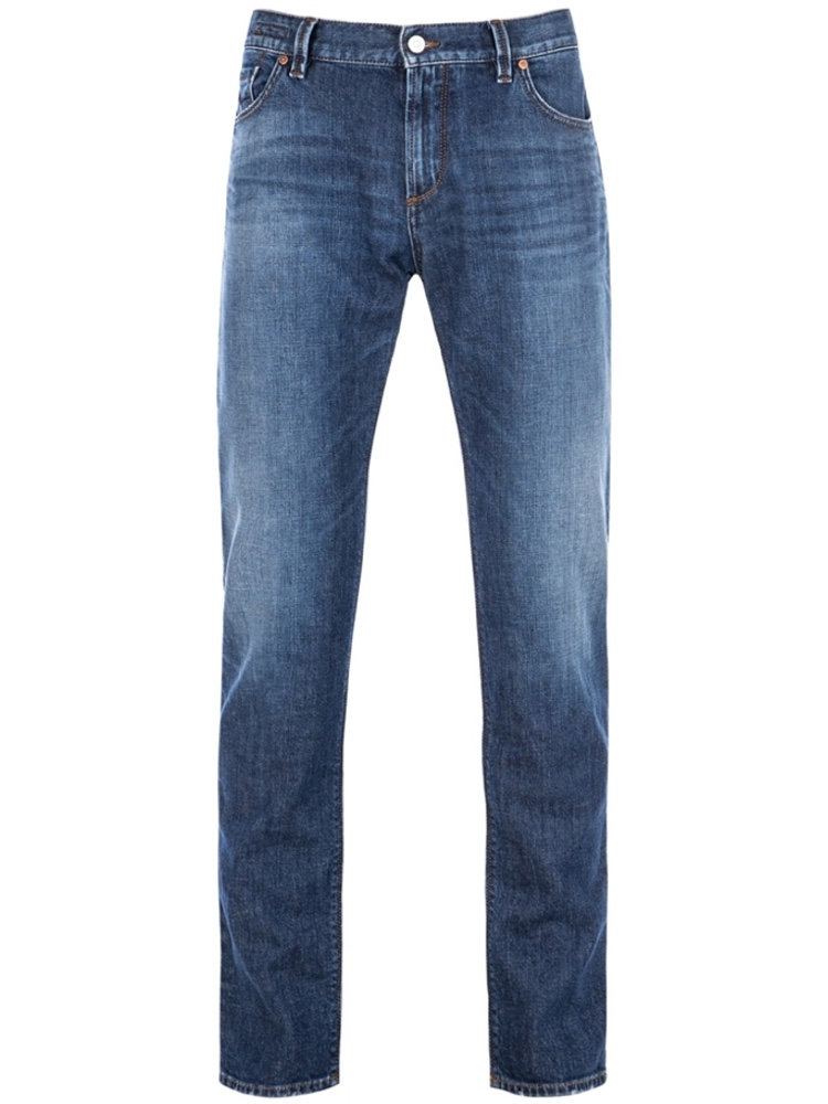 ALBERTO Jeans Regular Slim Fit PIPE Organic Denim blue SALE