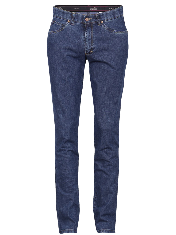 CLUB OF COMFORT Jeans JAMES mittelblau