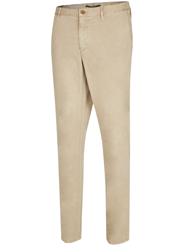 ALBERTO Chino Hose Slim Fit ROB T400 Superfit Twill beige