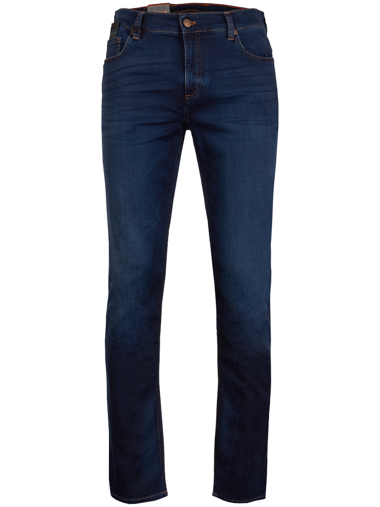 ALBERTO Jeans Regular Slim Fit PIPE Cosy navy