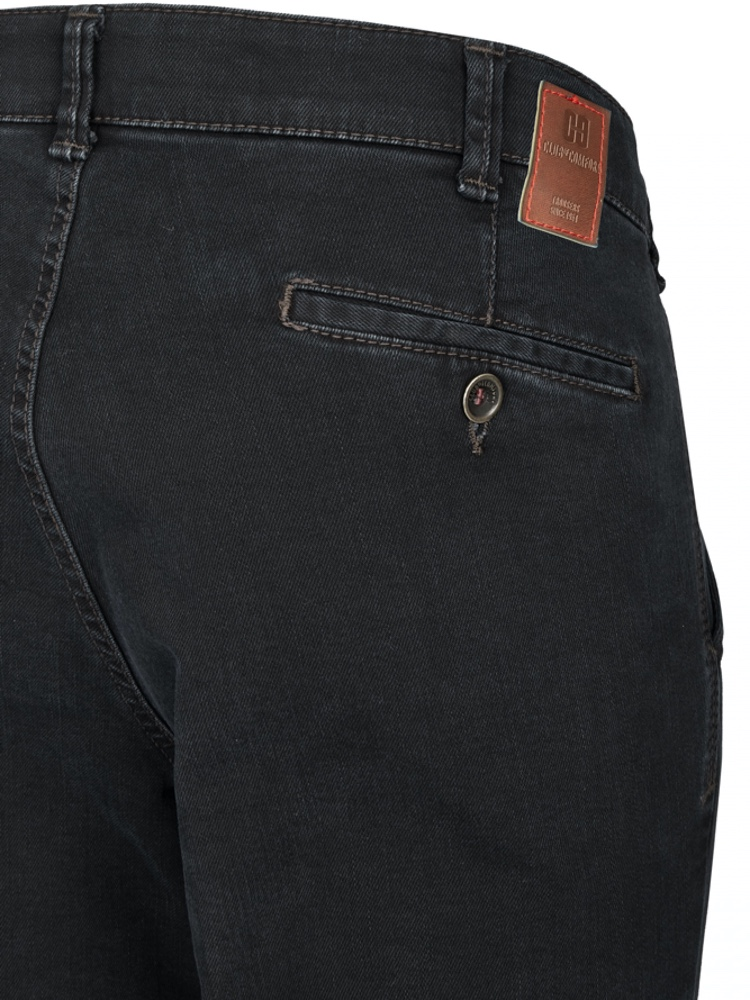 CLUB OF COMFORT Jeans GARVEY T400 DualFX schwarz